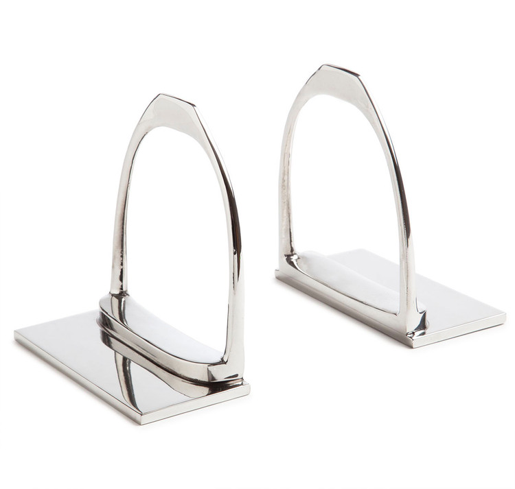 Saratoga Stirrup Bookends