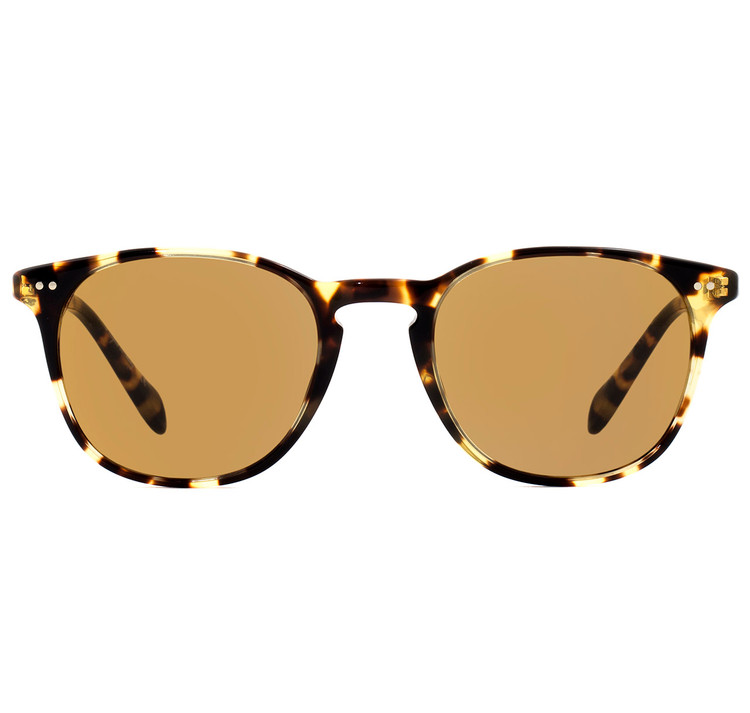 Oliver Peoples Sir Sir Finley Vintage Dark Tortoise Brown with Champagne Photochromic Glass