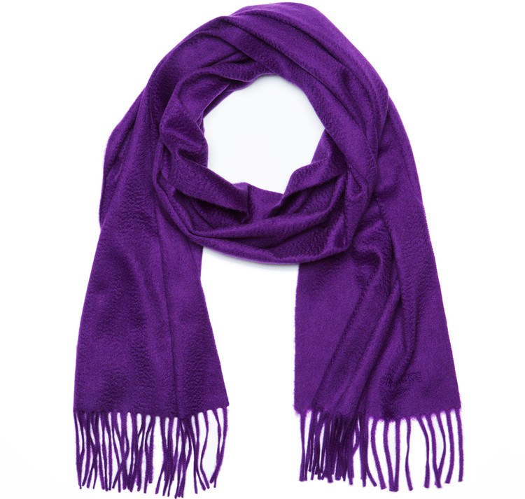Sir Jack's Cashmere Purple Scarf