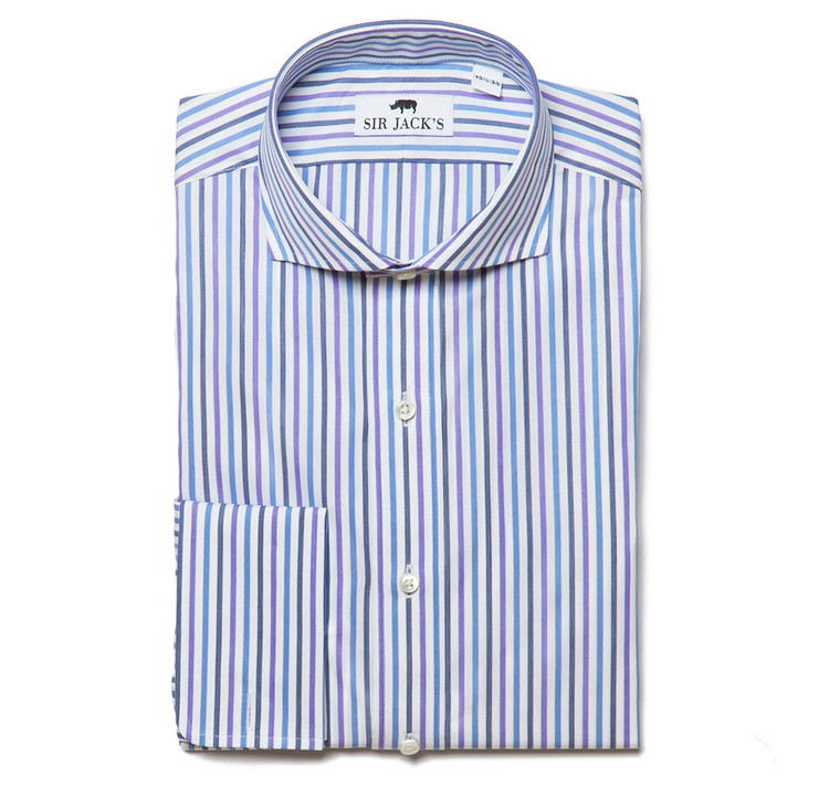 Lennox Multi-Stripe Shirt French Cuff