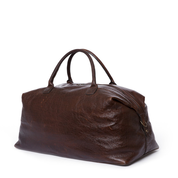Moore & Giles Benedict Weekend Bag American Bison