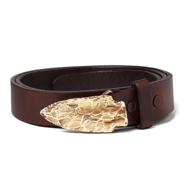 sir s fish hook buckle with brown leather belt sir