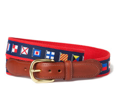 Yachting Flag Ribbon Belt