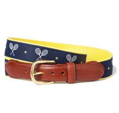 Racquet Sports Ribbon Belt