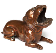Bronze Bulldog Cigar Ashtray
