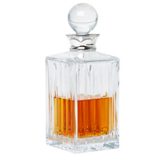Sterling Silver & Crystal Blair Spirits Decanter