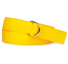 Naples Yellow Ribbon Belt