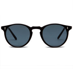 Oliver Peoples O'Malley Black Sun with Indigo Photochromic Vintage Glass