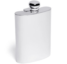 Sterling Silver 7oz Hip Flask