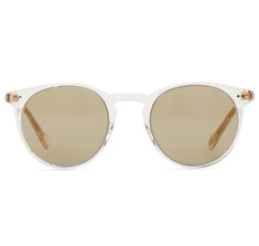 Oliver Peoples Sir O'Malley Sun Buff with Green Photochromic Glass