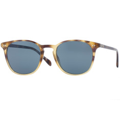 Oliver Peoples Sir Sir Finley Sun Vintage Brown Tortoise Gradient with Indigo Photochromic Glass
