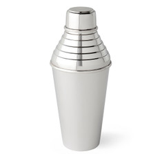 Art Deco Hukin & Heath Silver-Plated Cocktail Shaker