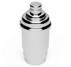 Art Deco French Silver-Plated Cocktail Shaker