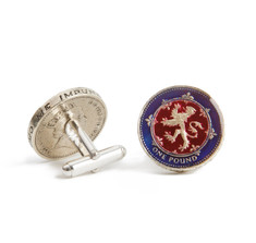 Scottish Pound Coin Cufflinks