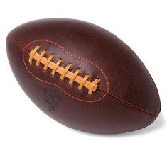 "Leather Head's ""Handsome Dan"" Football"
