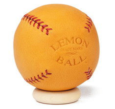 Leather Head's Lemon Peel Ball in Glove Tan
