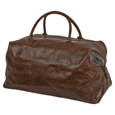 Moore & Giles Benedict Weekend Bag Titan Mulled Brown