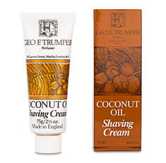 Geo F. Trumper Coconut Oil Tube Shaving Cream