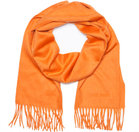 Sir Jack's Cashmere Orange Scarf