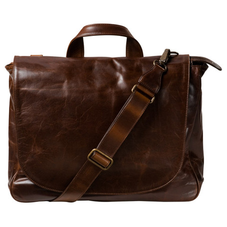 Moore & Giles Wynn Mail Bag Brompton Brown