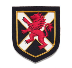 Sir Jack's Lion & Shield Badge