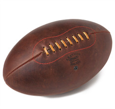 Leather Head's Angus No. 5 Rugby Ball