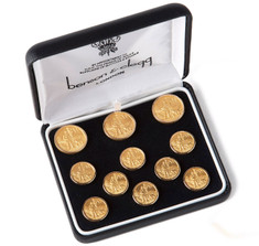 Benson & Clegg Hunter Blazer Button Set