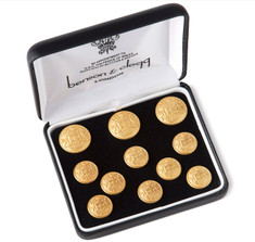 Benson & Clegg East India Company Gilt Blazer Button Set