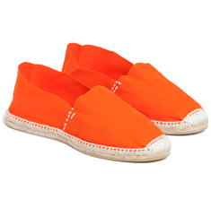 SIR JACK&#039;S Blaze Orange Espadrilles
