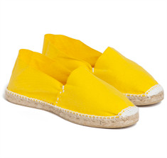 SIR JACK&#039;S Canary Yellow Espadrilles