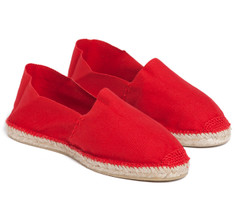 SIR JACK&#039;S Toro Red Espadrilles