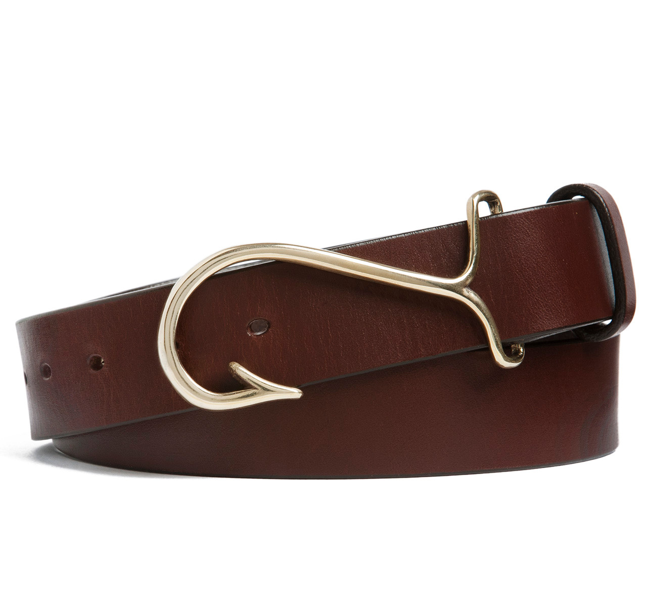 sir jack 39 s fish hook buckle with brown leather belt sir
