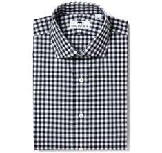Clarendon Black Gingham Shirt