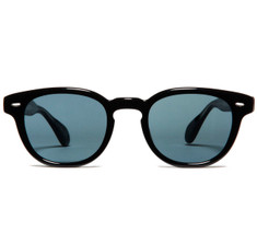 Oliver Peoples Sheldrake Black with Indigo Photochromic Vintage Glass