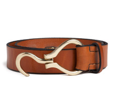 Large Hoof Pick Belt in Cognac