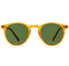 Oliver Peoples O'Malley Sun Amber Tortoise With Forrest Green Polar Glass