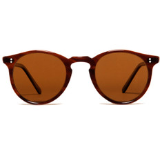 Oliver Peoples O'Malley Sun Brown Tortoise Cream with Super Brown Polar Glass