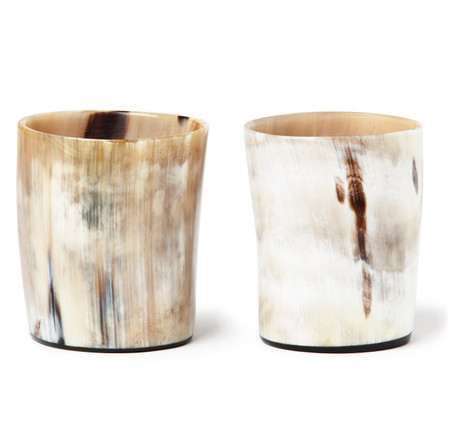 Ox Horn Double Old Fashioned Whiskey Tumblers