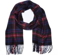 Sir Jack&#039;s Cashmere Braveheart Tartan Scarf