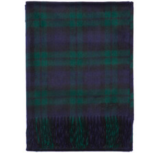 Sir Jack&#039;s Cashmere Blackwatch Tartan Throw