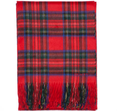 Sir Jack&#039;s Cashmere Royal Stewart Tartan Throw