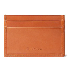 Sir Jack&#039;s London Tan Credit Card Holder