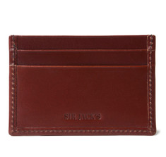 Sir Jack&#039;s Conker Bridle Credit Card Holder
