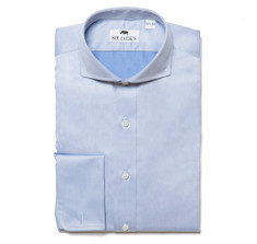 Lennox Blue Shirt French Cuff