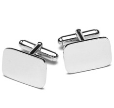 Sterling Rectangle Cufflinks