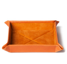 London Tan Travel Tray