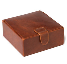 Havana Leather Large Stud Box