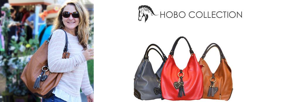 Hobo Collection of Leather Handbags