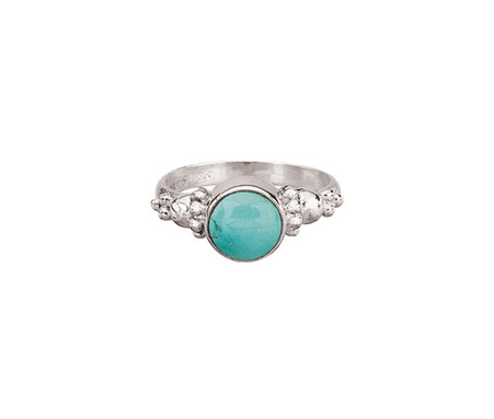 Round Turquoise Ring | Balls | Sterling Silver