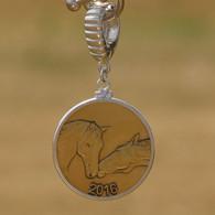 2016 Horse Coin Pendant